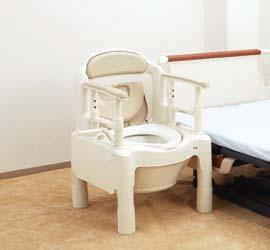 安寿便携式坐便椅