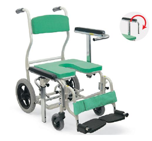 沐浴用轮椅